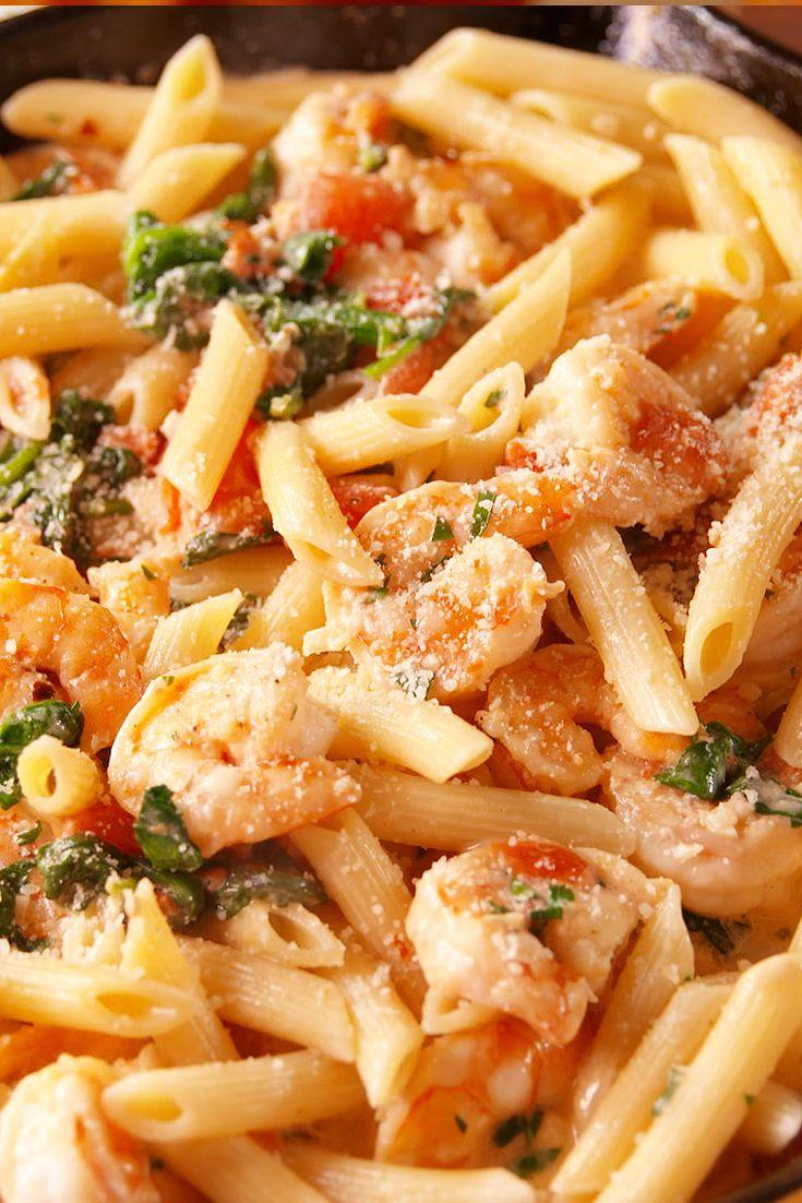 best tuscan shrimp penne recipe how to make tuscan shrimp penne