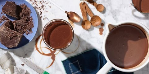 Mint Green Tea-Infused Hot Coco