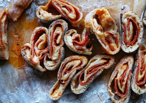 Pepperoni Pizza Pinwheels Recipe