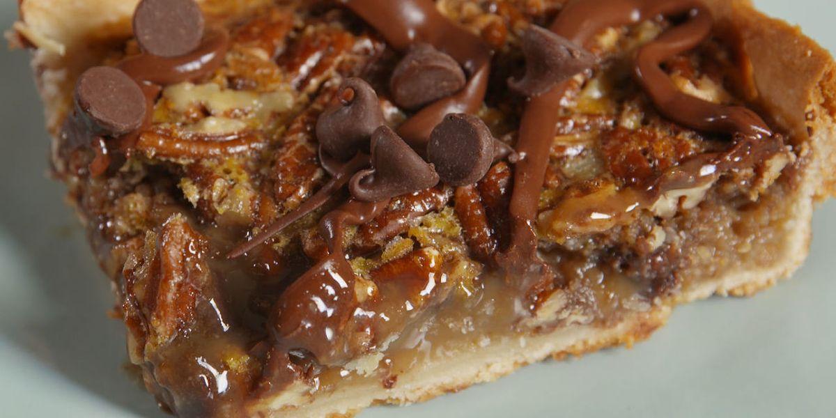 Easy Chocolate Chip Pecan Pie Recipe