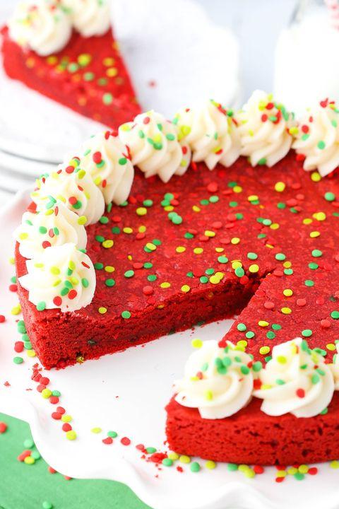 Wondrous Red Velvet Cookie Cake Download Free Architecture Designs Sospemadebymaigaardcom
