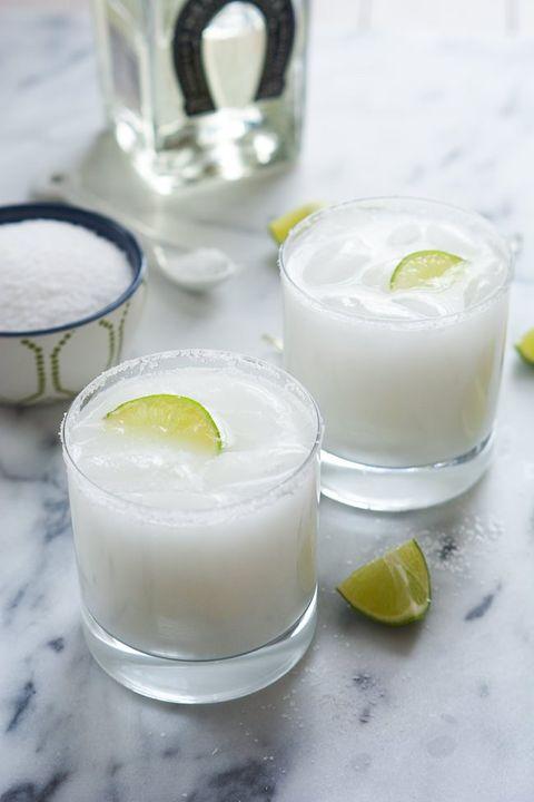 Food, Pisco sour, Drink, Buttermilk, Fizz, Ingredient, Paloma, Gimlet, Lemonade, Dairy,