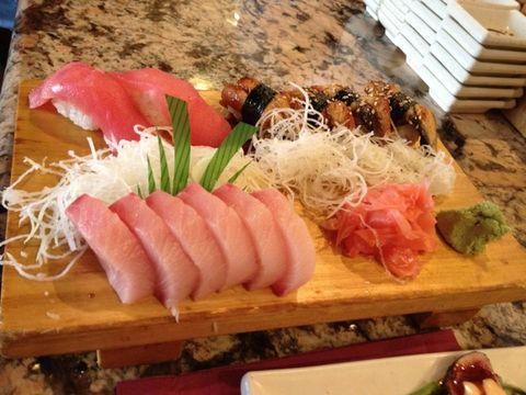 Food, Cuisine, Pink, Ingredient, Dish, Animal product, Seafood, Fish slice, Sashimi, Crudo,