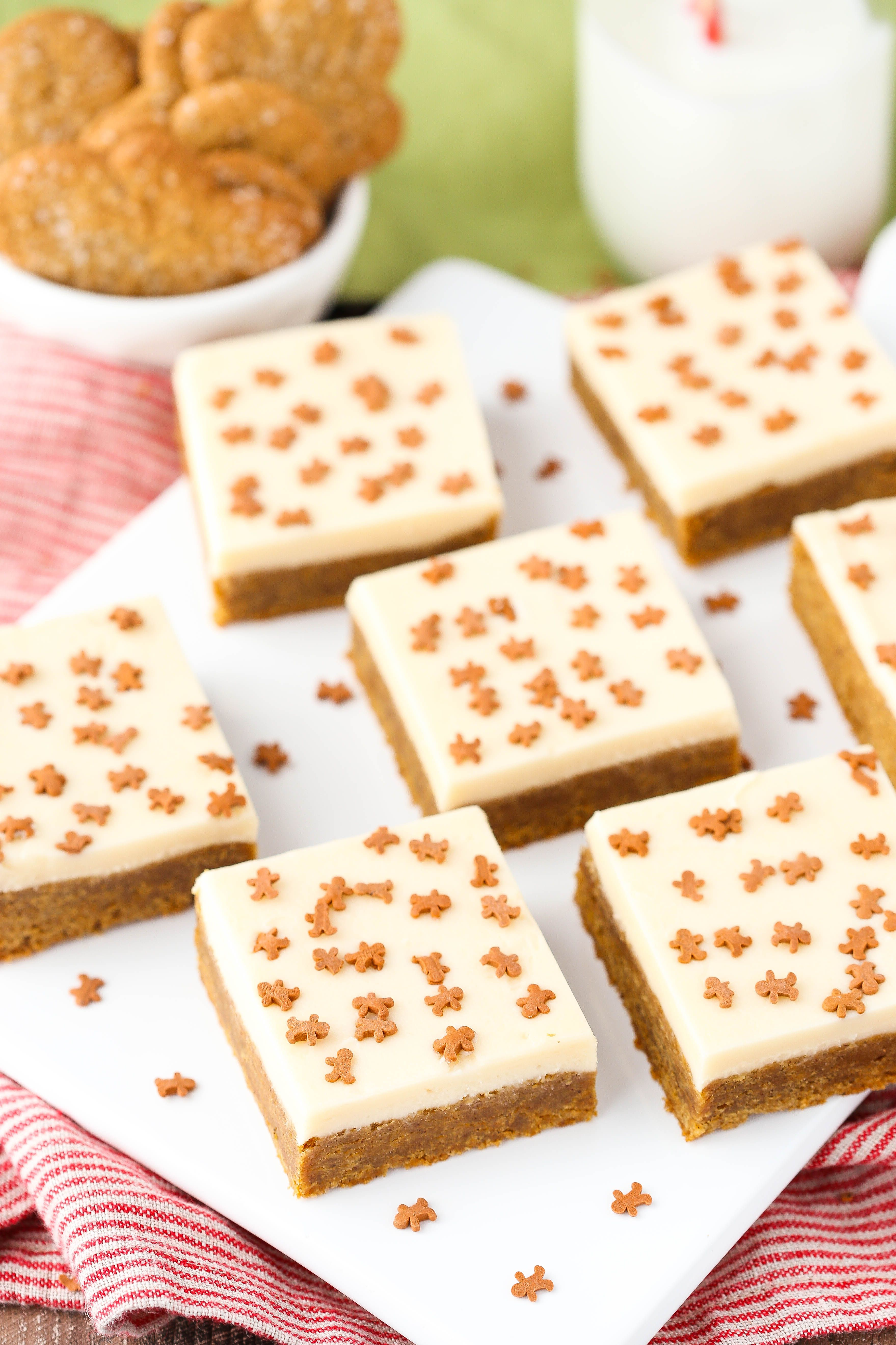 Caramel-Gingerbread Cookie Bars Recipe