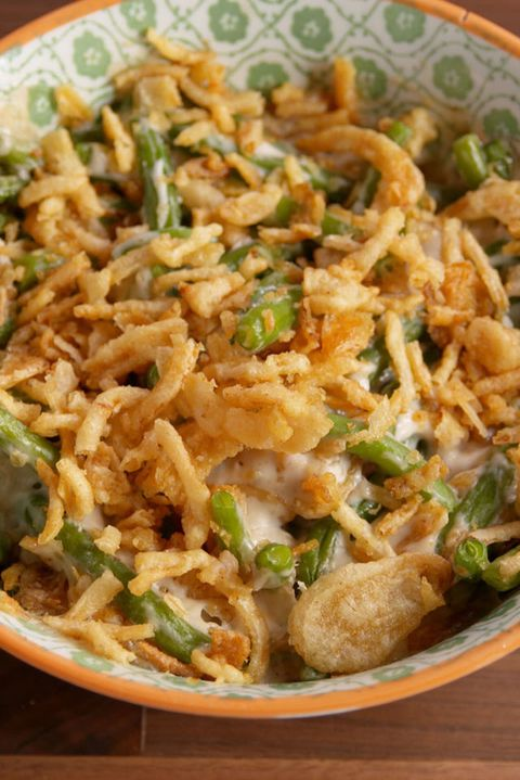 Microwave Green Bean Casserole Vertical