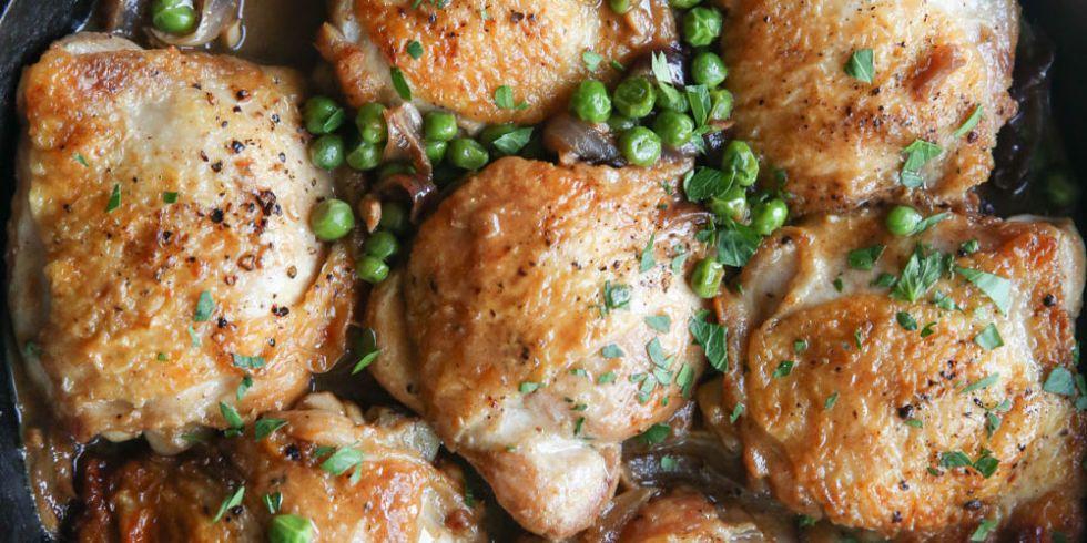 Best Garlicky Bourbon Chicken Recipe How To Make Bourbon Chicken Thighs Delish Com