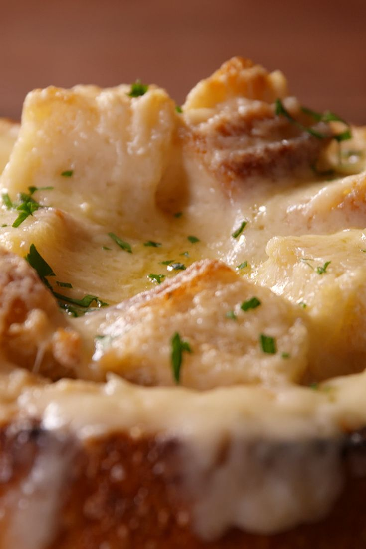 FRENCH ONION BREAD BOWL