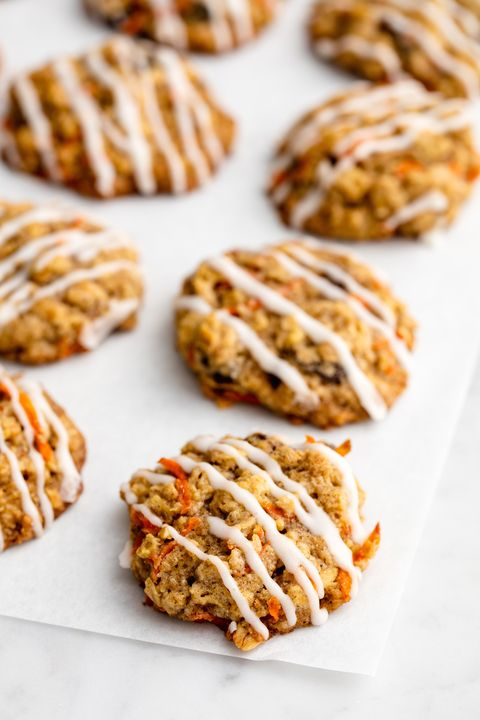 Carrot Cake Cookies Vertical