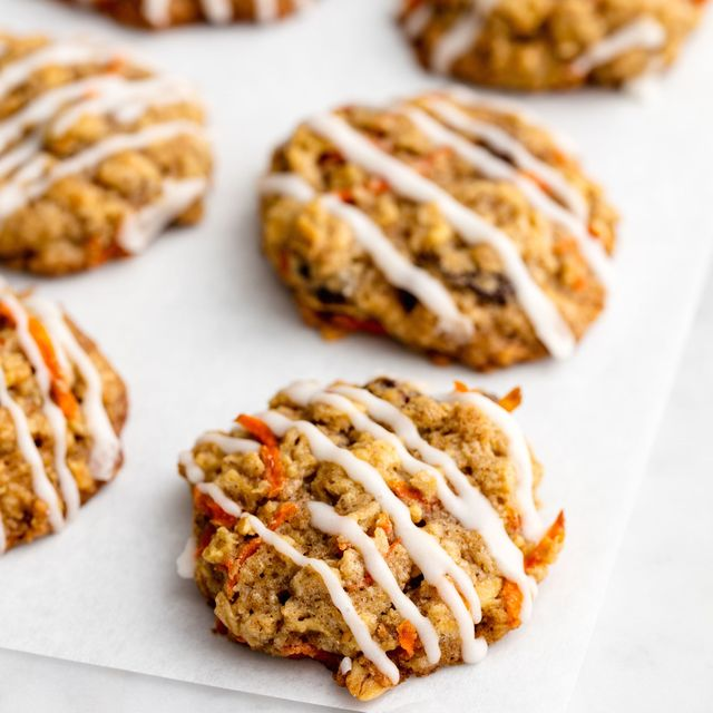 Easy Biscuit Recipes -Carrot Cake Cookies