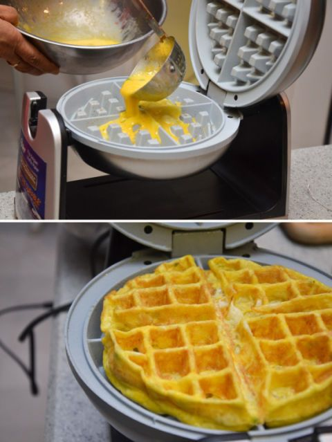 Food, Yellow, Small appliance, Belgian waffle, Cuisine, Ingredient, Recipe, Dish, Breakfast, Cookware and bakeware,