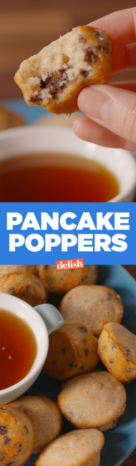 Baking pancake poppers video pancake poppers recipe how to video pancake poppers ccuart Images