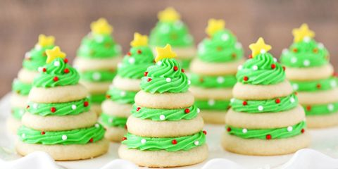 Christmas Tree Sweets Candy Shaped Like Christmas Trees