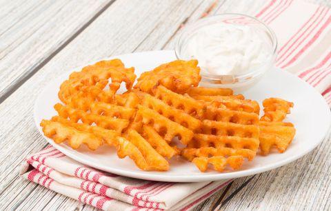 Food, Ingredient, Dishware, Tableware, Fried food, Orange, Dish, Finger food, Cuisine, Recipe,