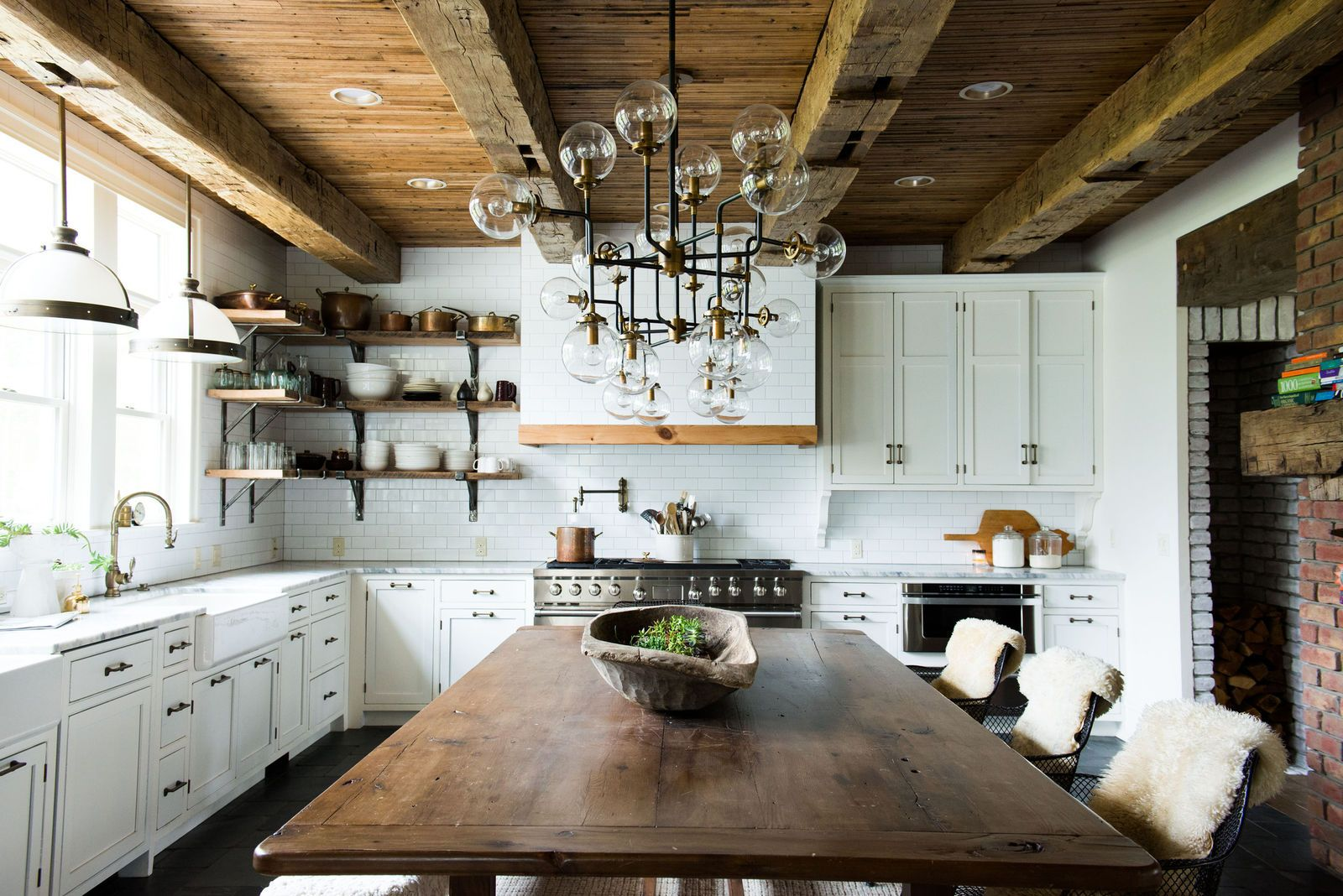The Top Kitchen Design Ideas For 2017 Hgtv Leanne Ford Interview Delish Com