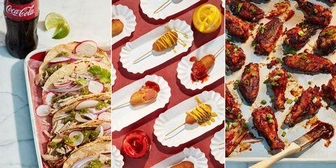 Food, Cuisine, Finger food, Ingredient, Dish, Recipe, Tableware, Plate, Garnish, Culinary art,
