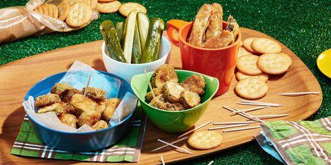 Food, Cuisine, Finger food, Tableware, Dish, Ingredient, Fried food, Plate, Meal, Serveware,