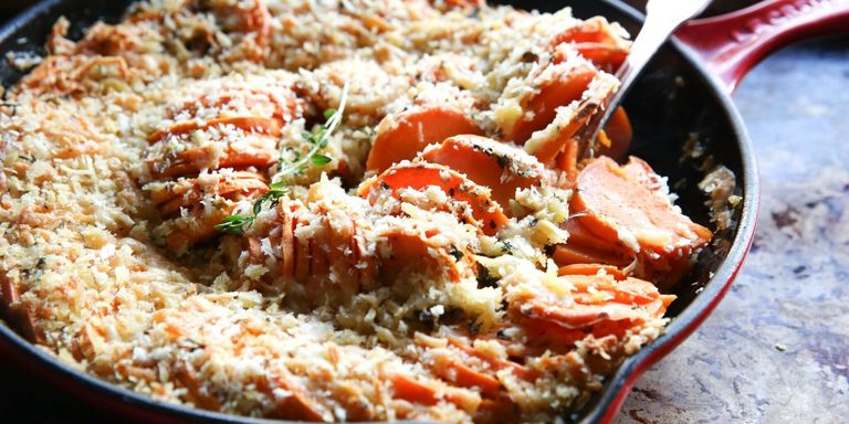 20 vegetarian christmas dinner recipes ideas for vegetarian cheesy sweet potato casserole horizontal forumfinder Choice Image