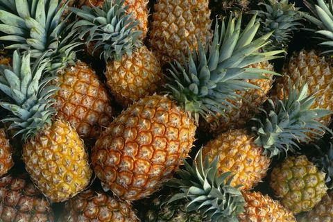 Vegan nutrition, Whole food, Food, Fruit, Natural foods, Produce, Local food, Ananas, Public space, Pineapple,