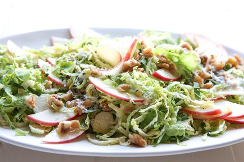 Apple-Brussels Sprouts Salad Horizontal