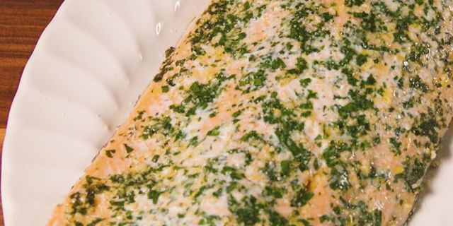 Garlic Parmesan Salmon