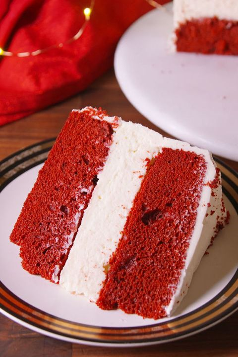 Best Red Velvet Cheesecake Cake Recipe How To Make Red