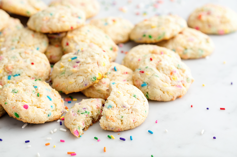 How to Make Funfetti Cookies Video Delishcom