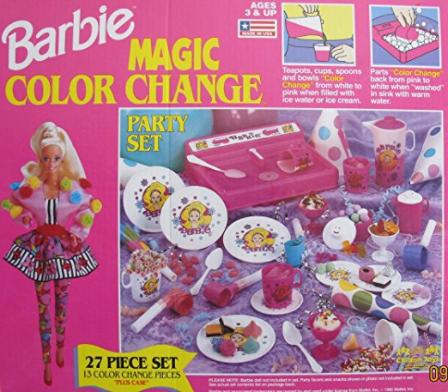 Barbie Magic Color Change Set