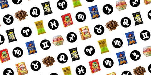 The Best Snack for Your Sign - Delish com