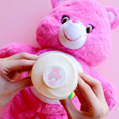 Finger, Product, Stuffed toy, Plush, Toy, Textile, Baby toys, Magenta, Pink, Nail,