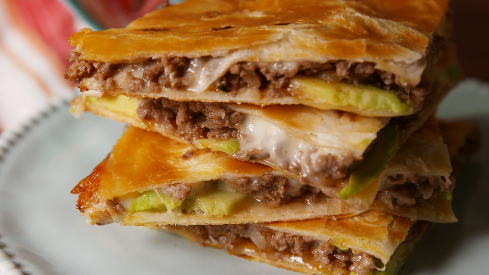 Easy Quesadilla Recipe How To Make Beef Quesadillas Delish Com