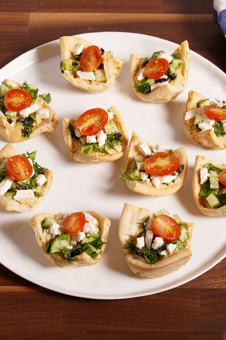 Pita snack: cooking recipes 52