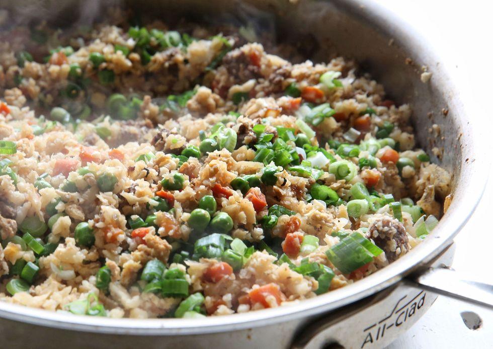 Beef Cauliflower Fried Rice
