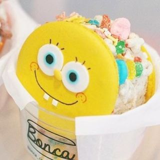 Youve Got To See These Spongebob Ice Cream Sandwiches Delishcom