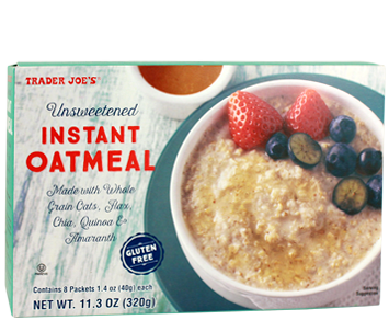 Calories Whole Foods Organic Oatmeal Packet