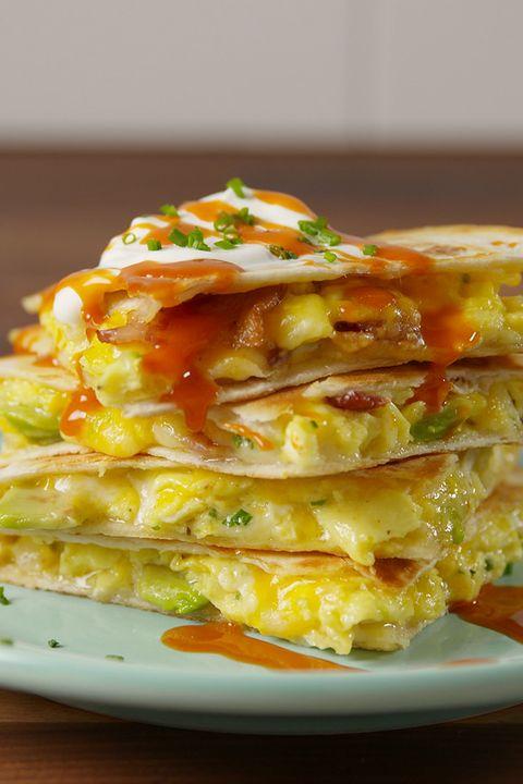 Best loaded breakfast quesadillas how to make loaded breakfast loaded breakfast quesadilla vertical forumfinder Gallery