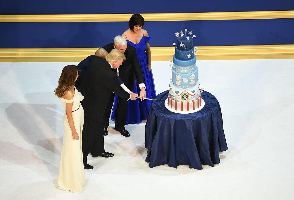 Trump's Inaugural Cake Baker Confirms She Copied Obama's Cake