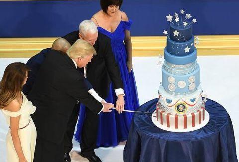Trump Inauguration Cake