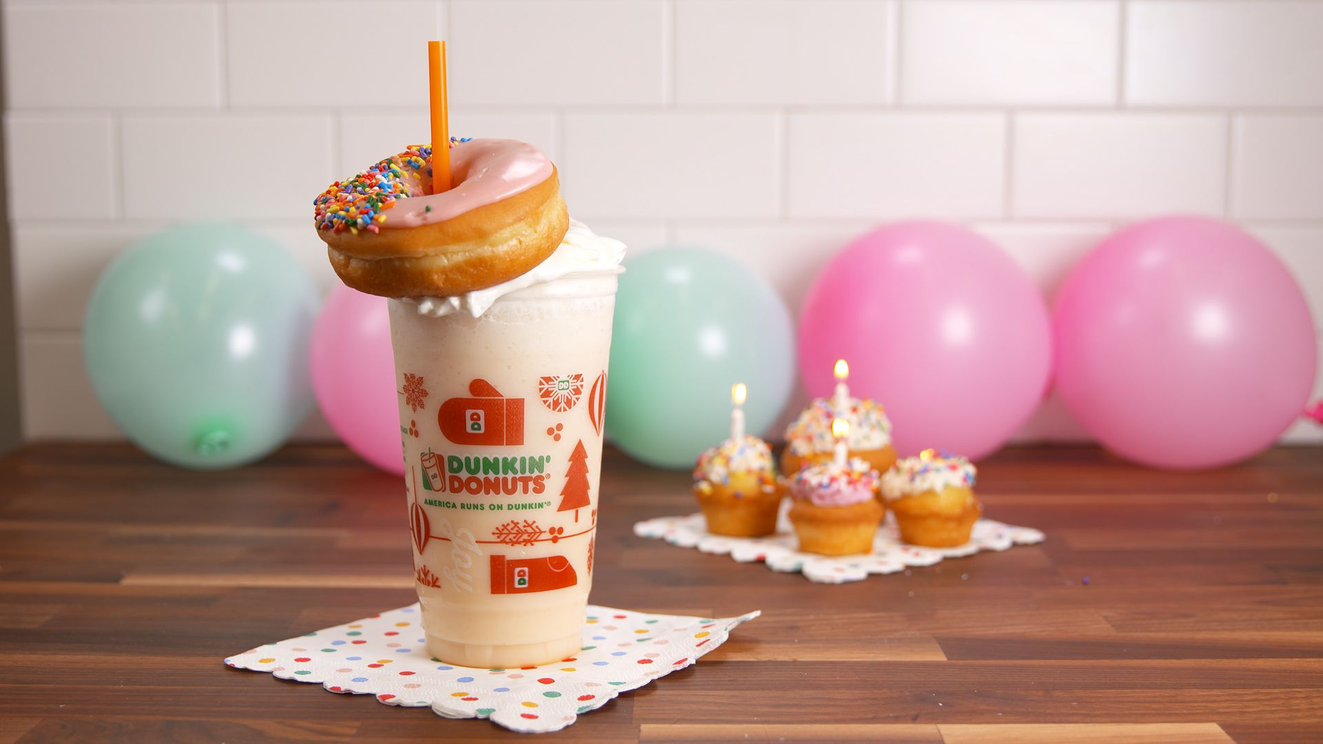 Enjoyable Dunkin Donuts Secret Menu Menu Hacks Delish Com Personalised Birthday Cards Paralily Jamesorg