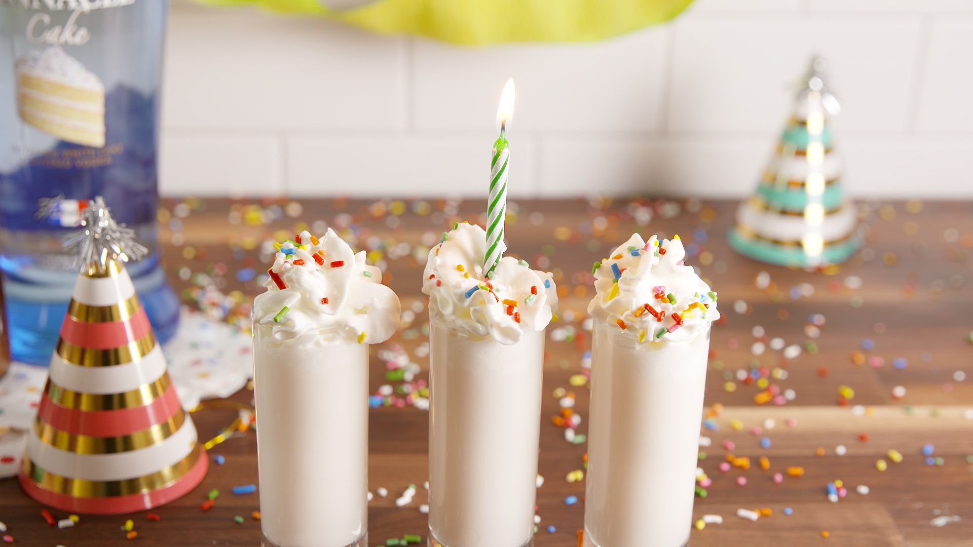 Best Birthday Cake Shots How to Make Birthday Cake Shots
