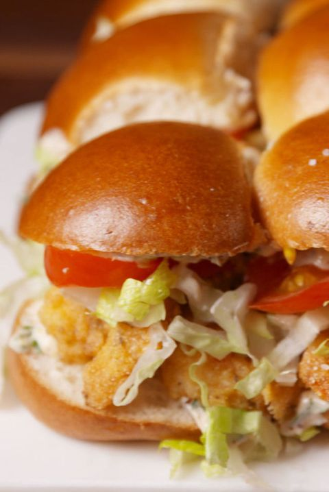 Shrimp Po' Boy Sliders