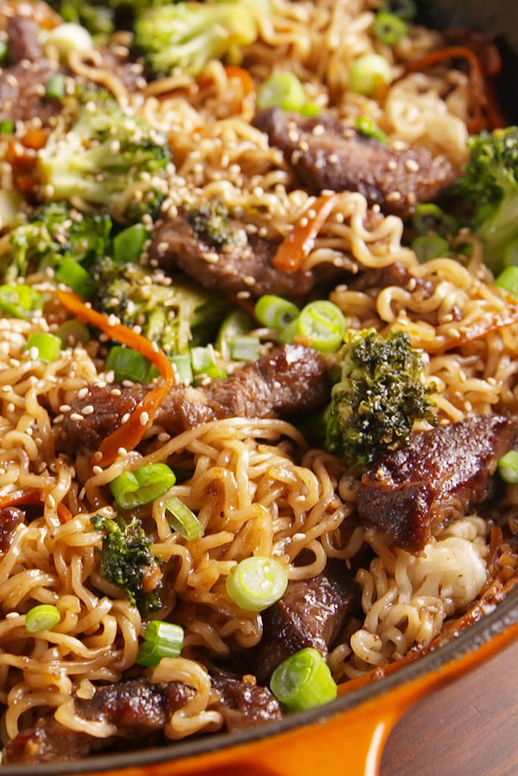 Best mongolian beef ramen how to make mongolian beef ramen forumfinder Images