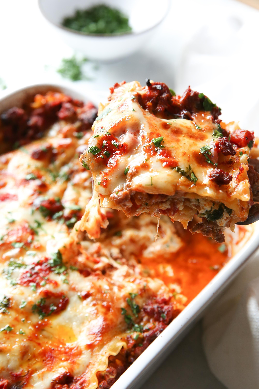 Classic Lasagna Vertical