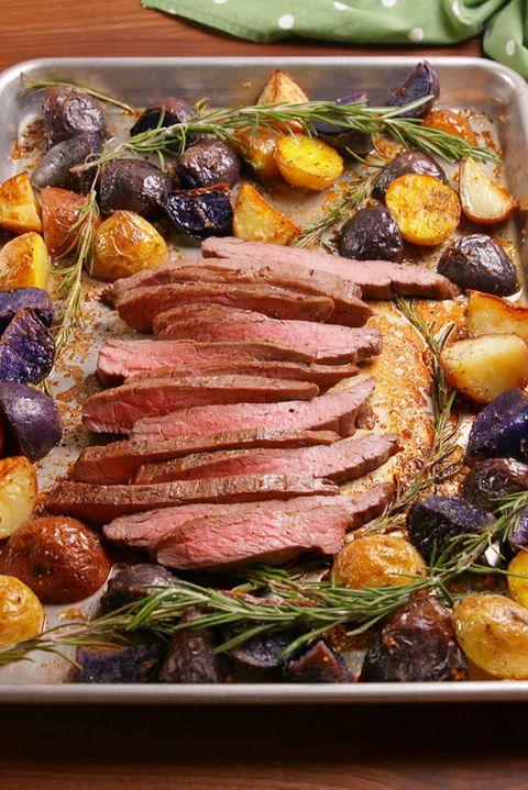 Balsamic Steak Vertical