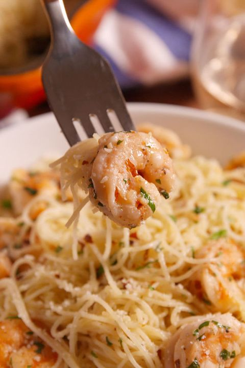 Best Garlic Butter Shrimp Pasta Recipe Easy Shrimp Dish With Angel
