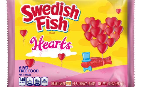 Swedish Fish Hearts