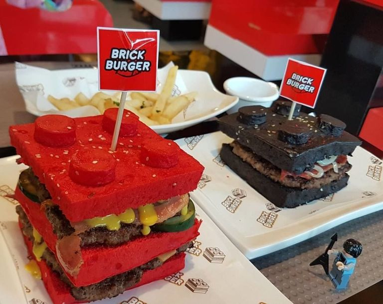 These Lego Burgers Will Immediately Bring You Back To Childhood