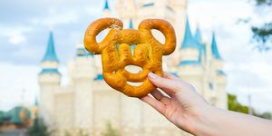 Castle and Mickey Pretzel