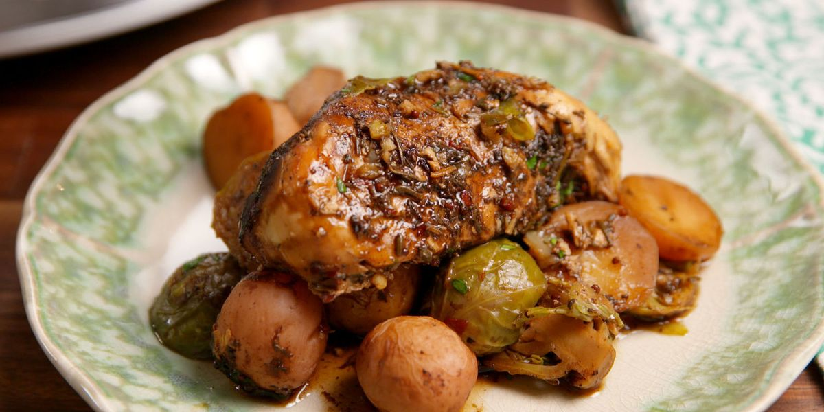 Best Slow Cooker Balsamic Chicken Recipe How To Make Slow Cooker