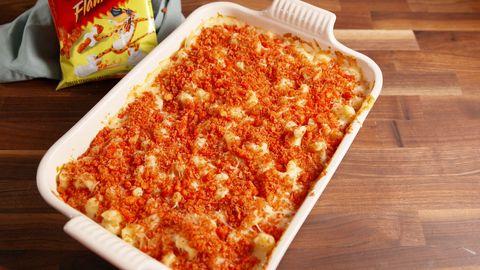 Flamin Hot Mac & Cheetos