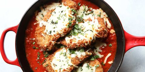 Instagram recipes and food from delish easy chicken parm horizontal forumfinder Image collections